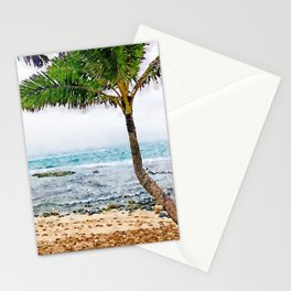 Maui Palm Tree Stationery Cards