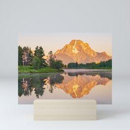Oxbow Bend Sunrise Mini Art Print