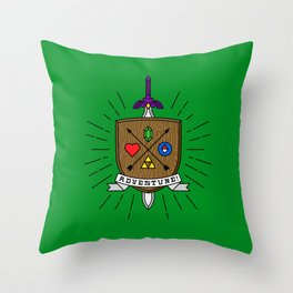 ADVENTURE! Throw Pillow