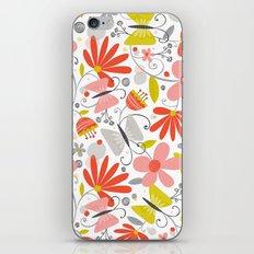 Busy Butterflies iPhone Skin