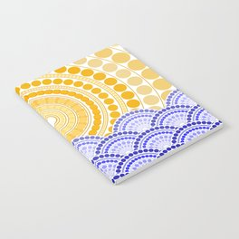LIGHT OF DAWN (abstract tropical) Notebook