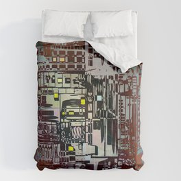 Where Are YOU - 2 / Density III Comforters