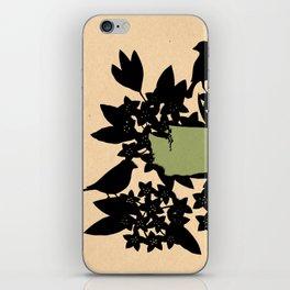 Washington - State Papercut Print iPhone Skin