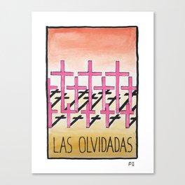 Las Olvidadas Canvas Print