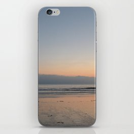 The Waves Silence iPhone Skin