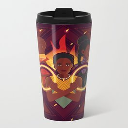 Women of Wakanda v2 Metal Travel Mug