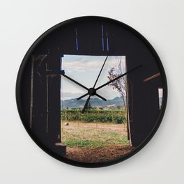 Barn Inside Out Wall Clock