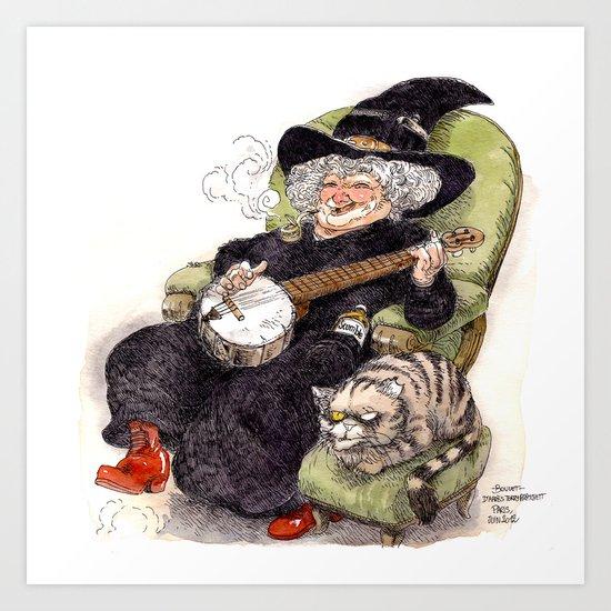 Nanny Art Print