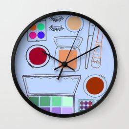 Makeup #2 Wall Clock