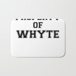 Property of WHYTE Bath Mat