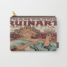 Vintage poster - Champagne Ruinart Carry-All Pouch