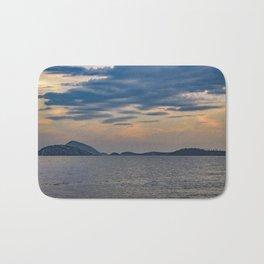 Landscape Scene from Ipanema Beach Rio de Janeiro Brazil Bath Mat