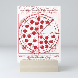 Parker Pepperoni Pizza Mini Art Print