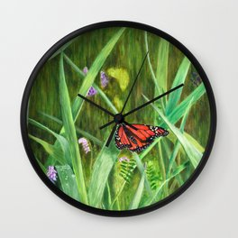 Signs of Summer by Teresa Thompson Wall Clock