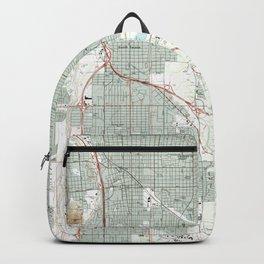 Tucson Arizona Map (1992) Backpack