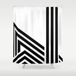 Hello III Shower Curtain