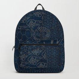 Sashiko - random sampler Backpack