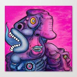 PsychoTounge Canvas Print