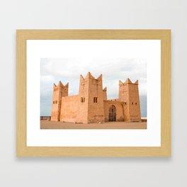 Kasbah I - Morocco Framed Art Print