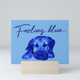 Feeling Blue Mini Art Print