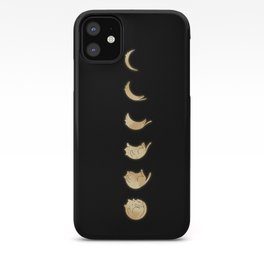 Cat Landscape 57: Phases of the Meow iPhone Case