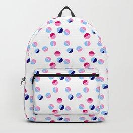 multicolor polka dot 6 -polka dot,pattern,dot,polka,circle,disc,point,abstract,minimalism Backpack