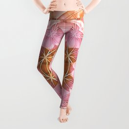 Flower of Life Mandalas 18 Leggings