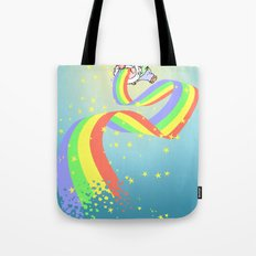 not laughing now Tote Bag