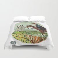 prince Duvet Covers featuring Prince by David Pavon