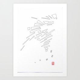 Composition #10 2016 Art Print
