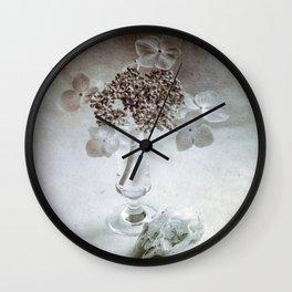 Memento Mori Wall Clock