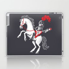 Music is mightier than the sword Laptop & iPad Skin