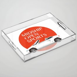 Midship Open Sports Acrylic Tray