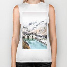 Seljavallalaug Pool, Iceland Biker Tank