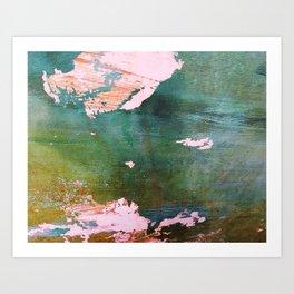Bottoms Up Abstract Art Print