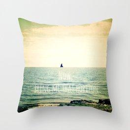 Now, bring me that horizon Throw Pillow