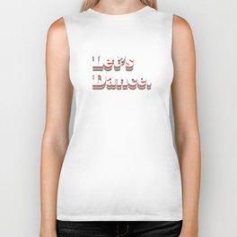 Let's Dance Biker Tank