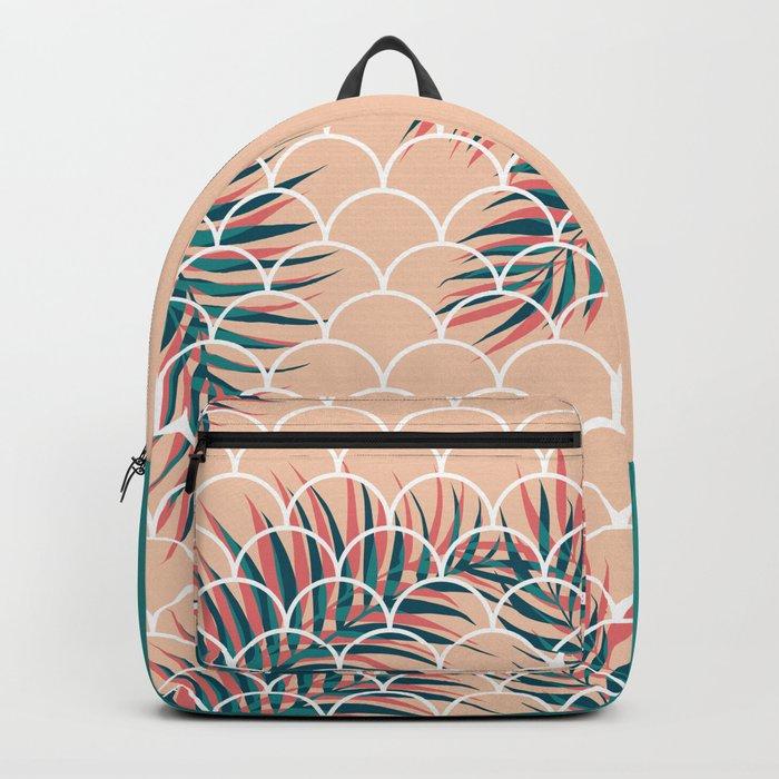 Tropical Window #society6 #decor #buyart Backpack