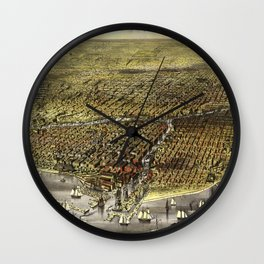 Chicago - Illinois - 1874 Wall Clock