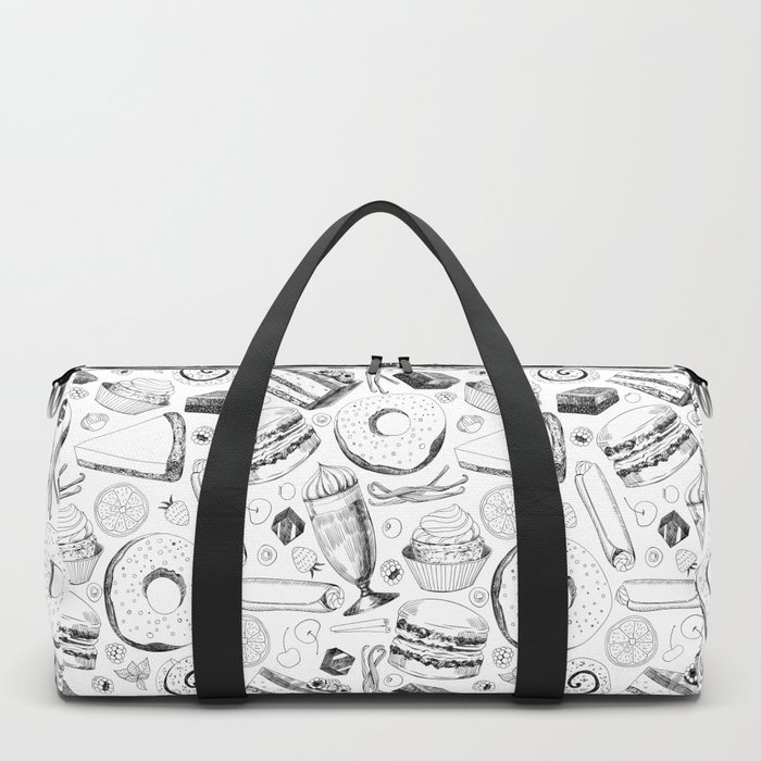 Delicious pattern Duffle Bag