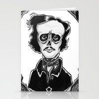 poe Stationery Cards featuring Poe by Shawn Dubin