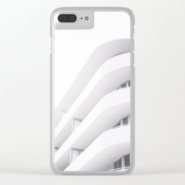 Art Deco Miami Beach #20 Clear iPhone Case
