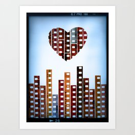 You Make This City Memorable Art Print