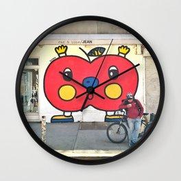 The Big Apple Wall Clock