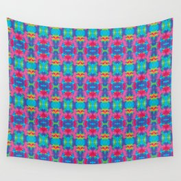 Hawaii orchild tie dye Wall Tapestry