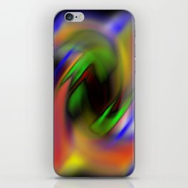 Curves of Color iPhone Skin