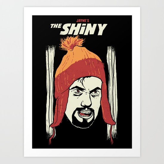 The Shiny Art Print