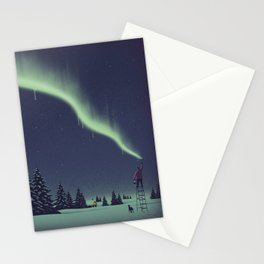 Winter Painting Stationery Cards