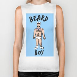 Beard Boy: Sailor Style Biker Tank