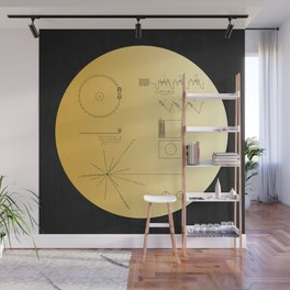 Voyager 1 Golden Record #2 Wall Mural